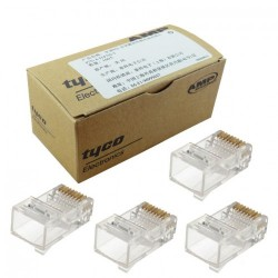 AMP Cat-6 Connector of Full Box (100 Unit Per Box)