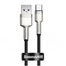 Baseus Cafule Series Metal Data Cable USB to Type-C 66W 1m Black CAKF000101
