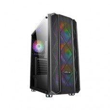 EVOLUR EH09 RGB Mid Tower Gaming Casing