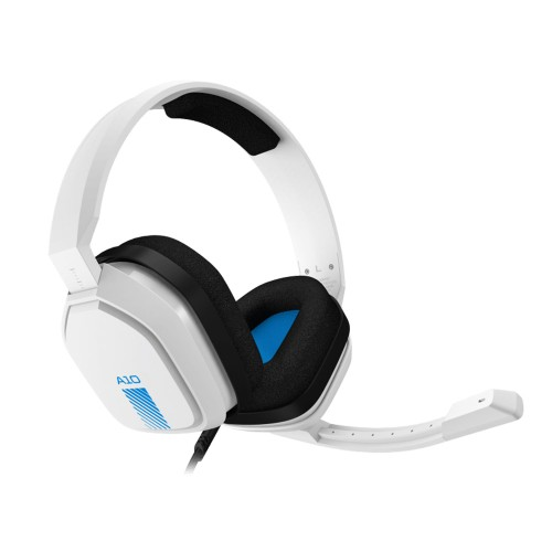 Astro A10 Wired Gaming Headset White Blue