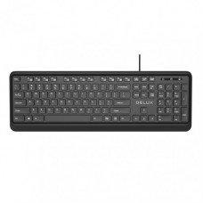 Delux KA190U USB Multimedia Keyboard