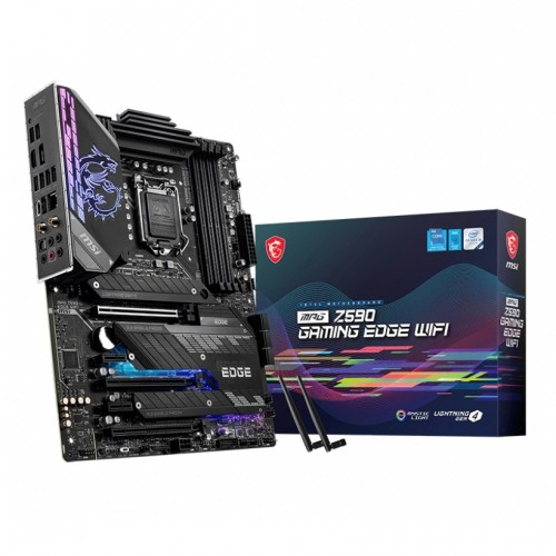 MSI MPG Z590 GAMING EDGE WIFI 10th and 11th Gen M-ATX Motherboard