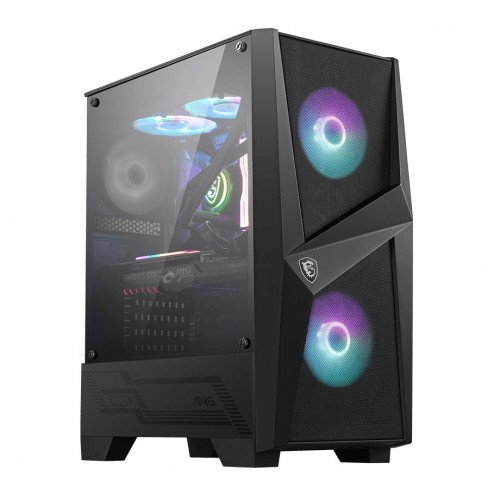 MSI MAG FORGE 100R Mid-Tower Gaming Case