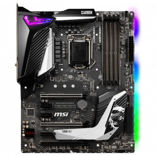 MSI MPG Z390 Gaming Pro Carbon AC 9th Gen ATX Motherboard