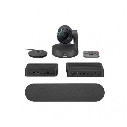 Logitech Rally System Video Conferencing Cam Set (6 Pcs Set/Audio Coverage 10 Feet)