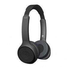 Cisco 730 Wireless Dual On-ear Headset Carbon Back