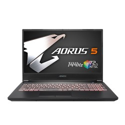 Gigabyte Aorus 5 KB Core i5 10th Gen RTX 2060 Graphics 15.6 inch 144Hz FHD Gaming Laptop