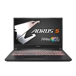 Gigabyte Aorus 5 MB Core i5 10th Gen 512GB SSD, GTX 1650Ti Graphics 15.6 inch144Hz FHD Gaming Laptop
