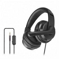 OVLENG OV-P6 3.5mm Stereo LED Light Gaming Headphone Black