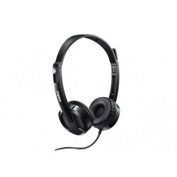 Rapoo H100 3.5mm Single Port Headphone Black