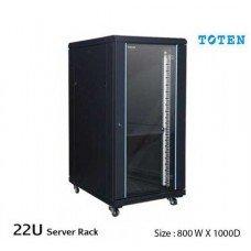 TOTEN 22U Floor Stand Server Cabinet