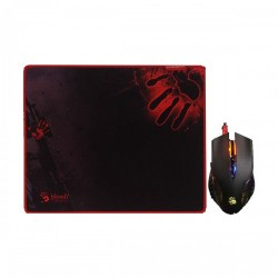 A4TECH Bloody Q8181S Neon X Glide Gaming Mouse & Mouse Pad