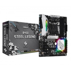 Asrock B450 Steel Legend AMD Motherboard