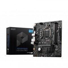 MSI H510M PRO Intel 10th Gen and 11th Gen Mirco-ATX Motherboard