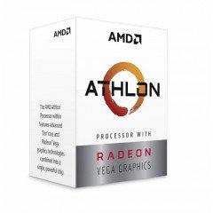 AMD Athlon 200GE AM4 Socket Desktop Processor with Radeon Vega 3 Graphics
