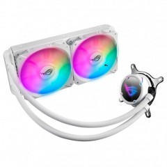 ASUS ROG Strix LC 240 RGB White Edition All-in-One Liquid CPU Cooler