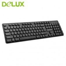Delux KA150 USB Multimedia Keyboard