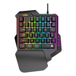 Fantech K512 Archer One-Handed USB RGB Gaming Keyboard