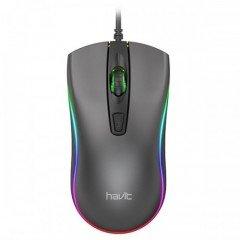 Havit MS72 Cool RGB LED USB Gaming Mouse Black