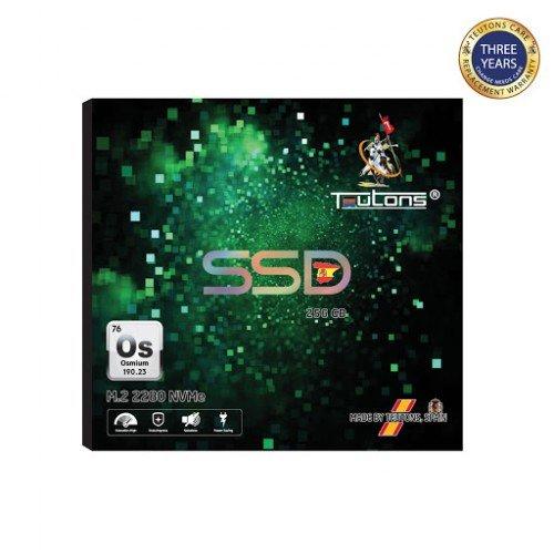 TEUTONS OSMIUM 256GB M.2 NVMe 2280 SSD