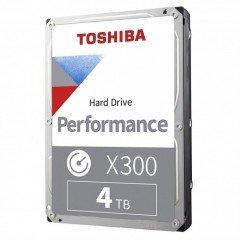 TOSHIBA X300 Performance 4TB 3.5 inch 7200 RPM SATA Hard Disk Drive