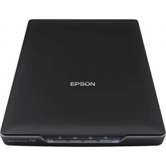 Epson Perfection V39 Flatbed Color RGB LED USB Image Scanner