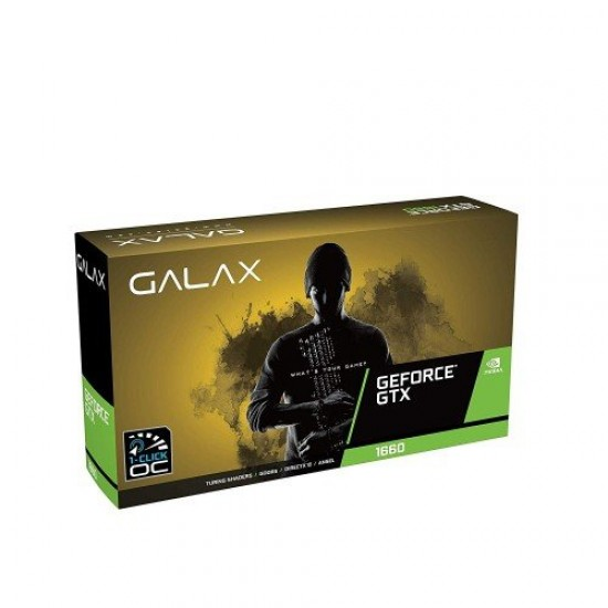 GALAX GeForce GTX 1660 1Click OC 6GB GDDR5 192 bit Graphics Card