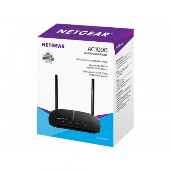 Netgear R6080 AC1000 WiFi Dual Band Router