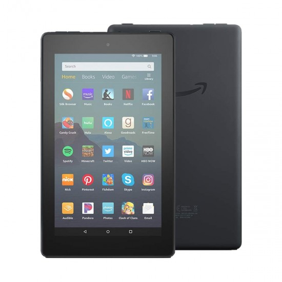 Amazon Fire 7 9th Gen  7 Inch Display  Black Tablet