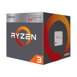 AMD Ryzen 3 2200G 3.5GHz-3.7GHz 4 Core 6MB Cache AM4 Socket Processor
