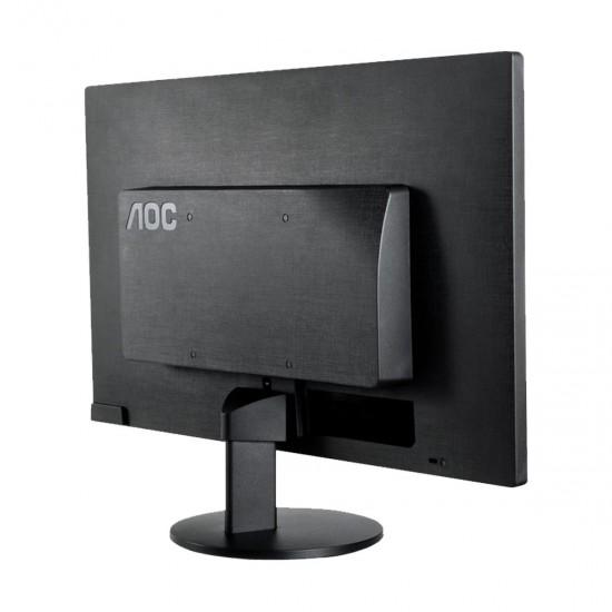 AOC E2070SWNE 19.45 Inch 1366 x768 Resolution, 5ms LED TN Monitor