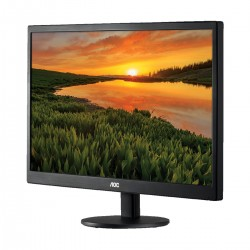 AOC E970SWHEN 18.5 Inch 1366 x768 Resolution, 5ms LED TN Monitor