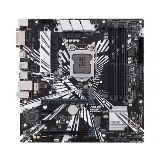 ASUS PRIME Z390M PLUS 9th Gen mATX Motherboard