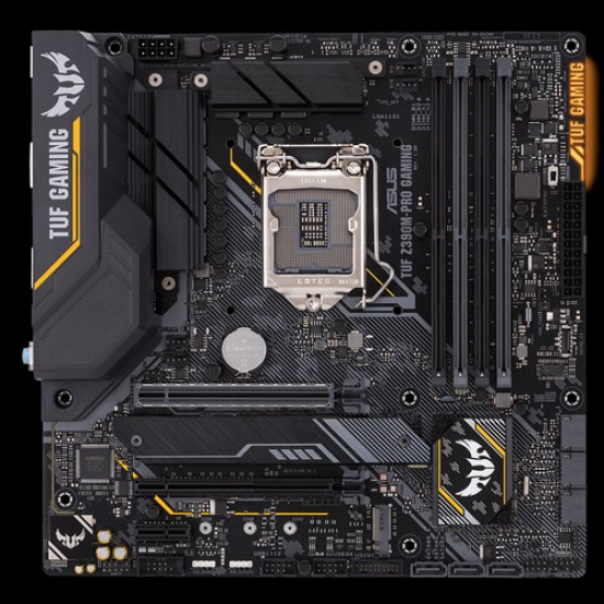 ASUS TUF Z390M PRO GAMING 9th Gen mATX Gaming Motherboard
