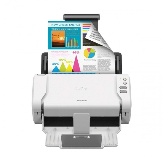 Brother ADS-2200 Desktop Color Sheetfed Scanner