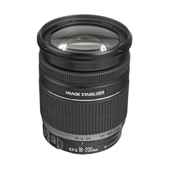 Canon EF-S 18-200MM F3.5-5.6 IS Camera Lens