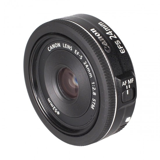 Canon EF-S 24mm F 2.8 STM Camera Lens