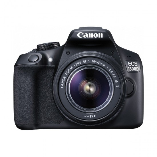 Canon EOS 1300D Digital SLR Camera Body with EF-S 18-55mm Lens