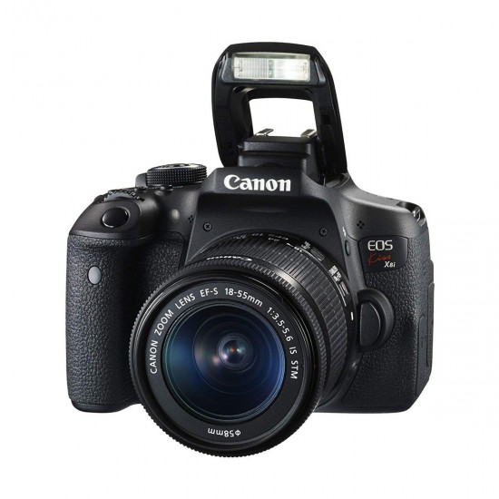 Canon Eos kiSSX8i Camera Body with 18-55mm STM Lens
