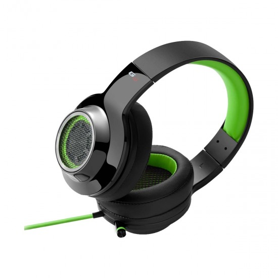 Edifier G4 Green USB Over-Ear Wired Gaming Headphone