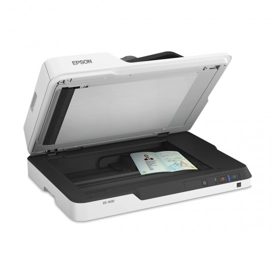 Epson DS-1630 Flatbed and Sheet Fed Color Document Scanner with ADF
