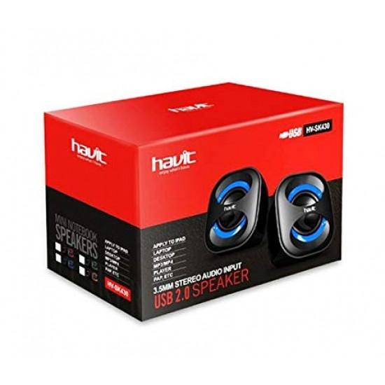 Havit HV-SK430 USB Black  Blue Speaker