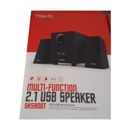 Havit SK590 2:1 Multi-Function Black Speaker