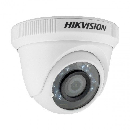 HikVision DS-2CE56C0T-IRPF2.8mm 1.0MP Indoor Turbo HD720P IR Dome CC Camera