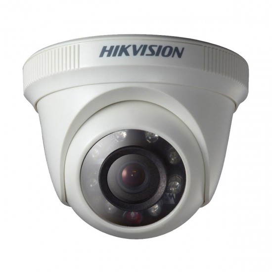 HikVision DS-2CE56D0T-IRF 3.6mm 2.0MP Indoor Turbo HD1080P IR Dome CC Camera