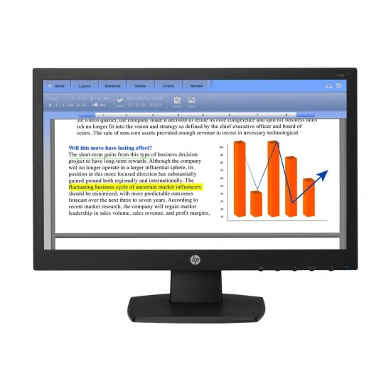 HP V194 18.5 Inch LED Monitor