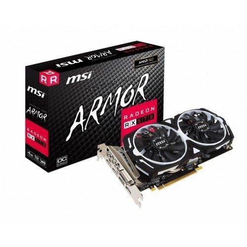 MSI Radeon RX 570 ARMOR 4G OC GDDR5 Graphics Card