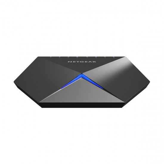 Netgear GS808E Nighthawk S8000 Advanced 8 Port Gigabit Gaming and 4K UHD Streaming Switch