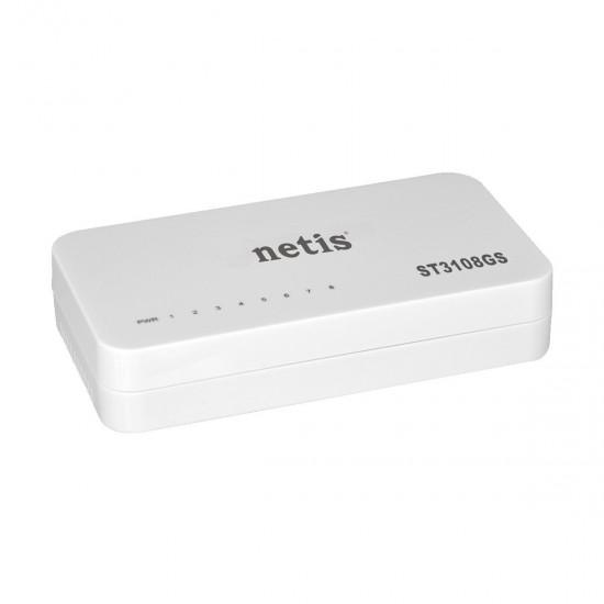 Netis ST3108GS 8 port Unmanaged Gigabit Desktop Switch