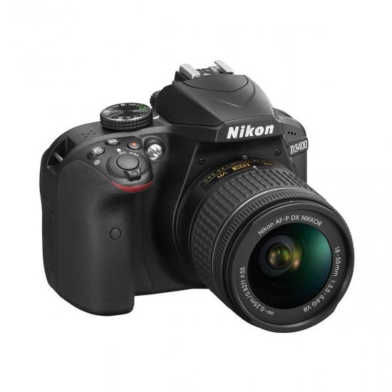 Nikon D3400 Digital SLR Camera Body with AF-S 18-55mm VR Lens